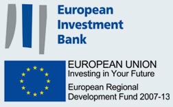 European Investment Bank; EUROPEAN UNION Investing in Your Future; European Regional Development Fund 2007-13